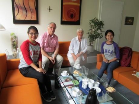 Besuch aus Myanmar